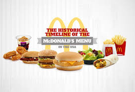 mcdonald s menu 2014. Plain Mcdonald McDonaldu0027s Menu Timeline On Mcdonald S 2014 B