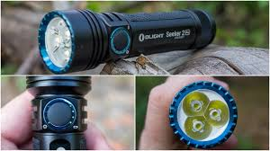 <b>Фонарь OLIGHT</b> SEEKER 2 PRO - карманный прожектор - YouTube