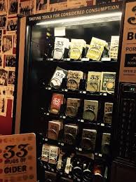 Book Vending Machine Locations Amazing 48 Books Vending Machine Picture Of Cider Riot Portland