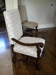 large reupholstered dining chairs
