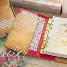 Gold Personal Planner Kit 2019 Websters Pages Color Crush Etsy