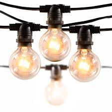 Amazon Patio Lights Upskr Globe String Lights 25pcs 29ft G40 With Clear Bulbs Ul Certified Outdoor String Lights Waterproof Patio Lights Hanging Lights For Party