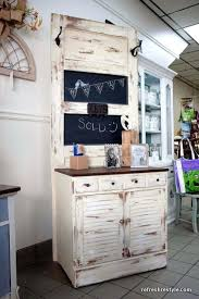 repurpose old doors dry sink and panel chalkboard combo repurpose louvered bifold doors