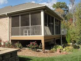 types of screened in porches