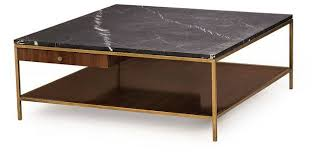 copeland square coffee table walnut