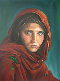 "Artists of the Year Nicola Freeman. Afghan Girl 24 x18"" Nicola Colbran Freeman - artists-of-the-year-nicola-freeman"