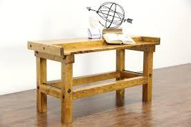 Antique Kitchen Work Tables Maple Antique Carpenter Workbench Kitchen Island Counter Wine