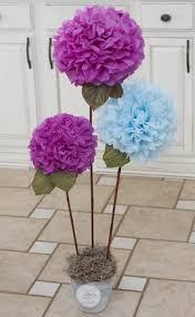 tissue paper flower centerpiece ideas flower tissue centerpieces elegant items similar to 6 centerpieces 9