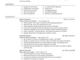 Forklift Resume Sample Sample Forklift Operator Resume Sample Resume