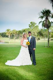 whitney and brandon on the mission inn golf course