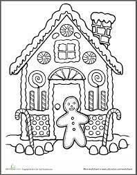 gingerbread house coloring sheet gingerbread house coloring page fabulous gingerbread coloring pages