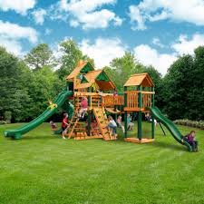 Fabulous Design of Gorilla Swing Sets for Kids Playground Ideas