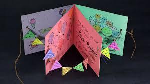 Diy Birthday Card Handmade Happy Birthday Card Making Step By Step
