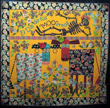 45 best Day of the Dead quilts images on Pinterest | November ... & Photo by Quilt Inspiration. This definitely isn't a fail, either, but the  pun is a bit dodgy. Adamdwight.com