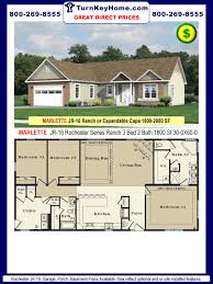 2 bedroom 2 bath modular home floor plans. awesome 3 bedroom modular home floor plans including bath gallery images homes townhouse rochester marlette jr series ranch plan sf price 2 e