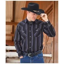 Ely Cattleman Western Shirt 589896 Shirts Polos At