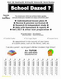 Tutor Advertisement Sample Sample Tutoring Flyer Roho 4senses