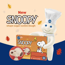 Heat, place, and bake for warm cookies in minutes. Pillsbury Like If You Re Excited To Bake With Snoopy Surprise Your Family With New Snoopy Shape Sugar Cookie Dough Everything You Love About Ready To Bake Sugar Cookies Now With A