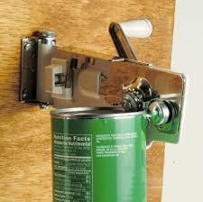 wall mounted can opener