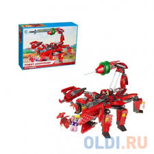 <b>Конструктор 1 Toy</b> Робосамураи Робот-скорпион 516 элементов ...