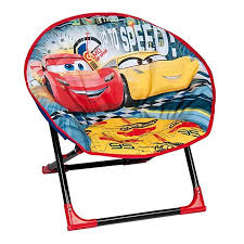 cars lightning mcqueen folding moon chair indoor and outdoor use co uk kitchen home