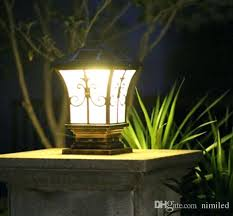 outdoor pole lamps solar post lights outdoor post lighting landscaping solar outdoor post lantern solar