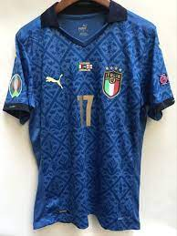 Maglia Italia Home 2020/2021 Finale europeo