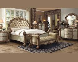 staggering farmers furniture bedroom sets picture concept set vendome gold by acme ac set