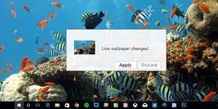Animated Desktop Backgrounds in Windows 10
