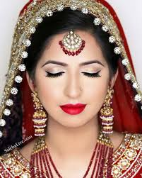 india middle east beauty on bridal makeup indian and stani stani bridal makeup artist
