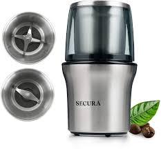 Shardor electric burr coffee grinder with 14 grind settings. Shardor Coffee Spice Electric Grinder