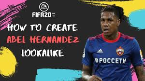 How to Create Abel Hernandez - FIFA 20 Lookalike for Pro Clubs - YouTube