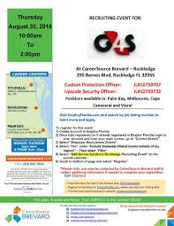 Recruiting Event Custom Protection And Upscale Security