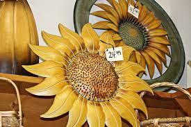 wall art sunflower wall decor metal