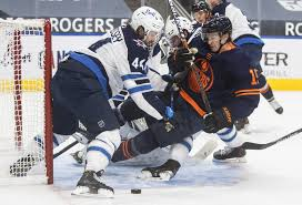 Talbot was sharp again in game 3 in san jose, as the oilers recorded. Wheeler S 3rd Period Goal Lifts Jets To 6 5 Win Over Oilers