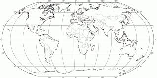 World Map Black And White Printable With Countries Blank World Map Black And White World Map Coloring Page With Map Map