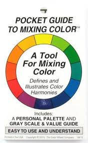 Rgb Color Mixing Chart Artists Pocket Guide To Mixing Color Craft In 2019