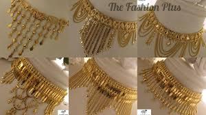 Arabic Gold Jewellery Designs Arabic Gold Choker Designs Gold Choker Necklaces Arabian Designs