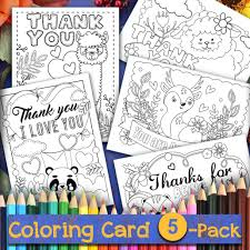 I love your printable thank you cards, they are super cute and printed on the natural cardstock so lovely and rustic!! Thanksgiving Printable Coloring Thank You Cards 5 Pack Thank You Me