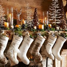 Rustic Christmas Decorations Interior Charming Christmas Mantel Decor For Decorating A Holiday