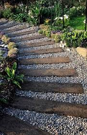 27 easy and walkway ideas for your garden wooden walkway ideas