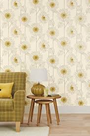 Next Bedroom Wallpaper Sunflower Interiors Will Always Bring A Smile Trying To Balance