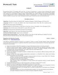 Net Developer Resume New Sharepoint Resume Yeniscale Bizmancan Mesmerizing Net Developer Resume