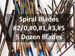 Pegas Scroll Saw Sample Pack Spiral Blades Half Pack