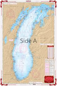 Lake Michigan Nautical Chart Chicago And Lake Michigan Navigation Chart 70