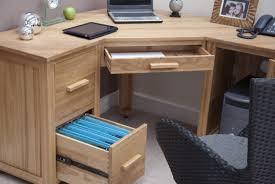 eton solid oak furniture office pc corner computer desk co uk kitchen home