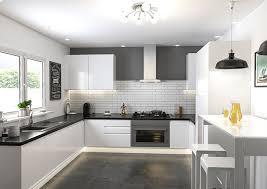 ringmer high gloss white kitchen doors enlarge image