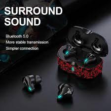 KINGSTAR oyun kulakiçi düşük gecikme TWS Bluetooth mikrofonlu kulaklık bas ses  ses konumlandırma PUBG kablosuz dokunmatik HD kulaklık|Bluetooth Earphones  & Headphones