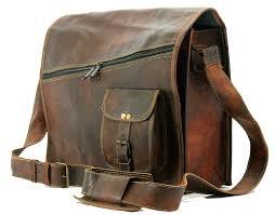 vintage brown 15 leather messenger bag for men women mens briefcase laptop best computer satchel