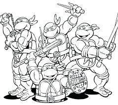 Ninja Turtle Color Ninja Turtles Coloring Page Ninja Turtle Color